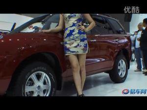 2011广州车展 江淮短发模特古典素雅