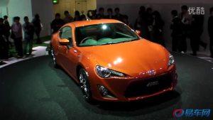 丰田GT-86东京车展发布 2012年6月发售