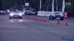 国外直线加速大赛法拉利F430 vs 世爵C8