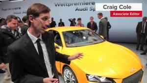 2013法兰克福车展 奥迪四驱概念车