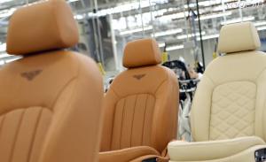 宾利皮革工厂 座椅制作过程全拍摄