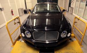 宾利汽车工厂 汽车道路测试欣赏