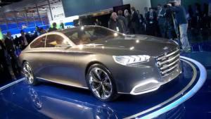 2014款现代劳恩斯 灵感来源于概念车