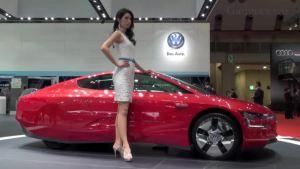 红爆了 大众XL1闪耀2013东京车展