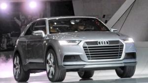 2014底特律车展 新款奥迪Q1即将亮相