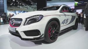 2014底特律车展 奔驰GLA45 AMG将亮相