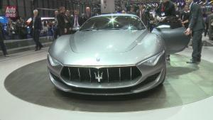 2014日内瓦车展 玛莎拉蒂Alfieri概念车