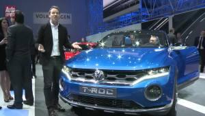 2014日内瓦车展 大众T-ROC概念车亮相