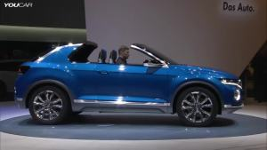 全新大众T-ROC概念车 2017年上市