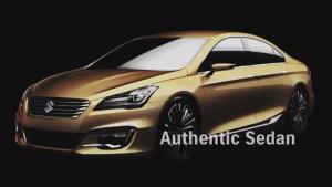 2014北京车展 铃木Authentics将首发