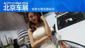 2014北京车展 驭胜车模笑颜如花