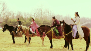 比亚迪F3微电影 杨贵妃秘史之驭马圣手