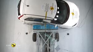 2014款名爵MG3 E-NCAP碰撞测试