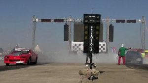 直线加速赛US类 丰田Chaser叫板科迈罗