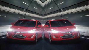 海外版现代朗动 三款车身颜色展示