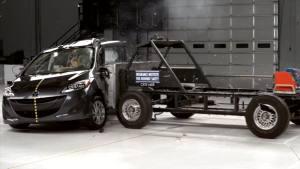 2014款马自达5 IIHS侧面碰撞测试