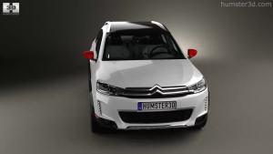 2014巴黎车展 雪铁龙C3-XR概念版模型