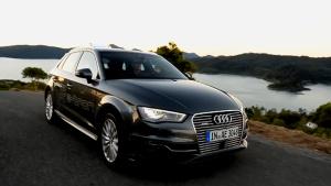 纯电动高性能 奥迪A3 e-tron新车展示