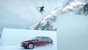 神配合 新奥迪SQ5精彩演绎人车滑雪