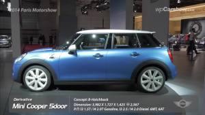 2014巴黎车展  MINI五门掀背版发布