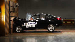 C-NCAP碰撞测试 北汽绅宝D50获五星