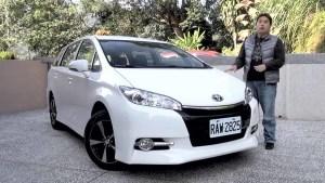 试驾丰田Wish 更智慧的家庭迷你MPV
