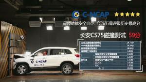 真相揭秘 长安CS75获C-NCAP史上最高分