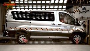 2015款福特全顺 NHTSA正面碰撞测试