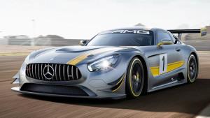 2015日内瓦车展 奔驰AMG GT3首发