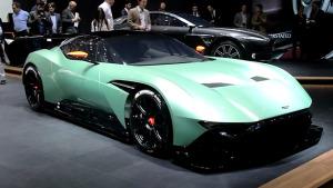 2015日内瓦车展  阿斯顿·马丁Vulcan