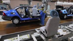 工厂探秘 上海-大众仪征工厂生产线曝光