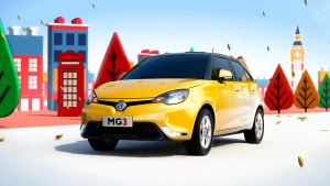2014款MG 3英伦小车 引领潮流颜色百变