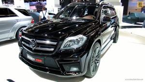 精致豪华外观 全尺寸SUV巴博斯GL700