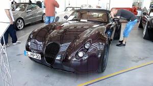 超跑家族 威兹曼三款跑车集体展示