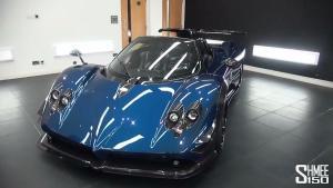 新车实拍 帕加尼定制版Zonda 760RS