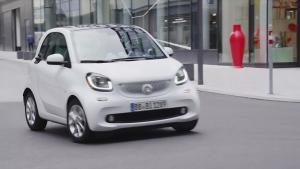 2016款smart fortwo 六速双离合变速器