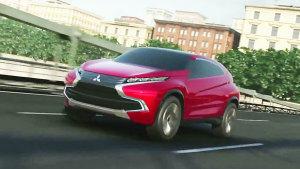 三菱XR-PHEV概念车动态 插电式混合动力