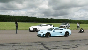速度较量 日产GT-R R35对决Noble M600