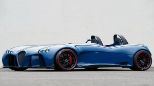 德式超跑 威兹曼概念车Spyder展示
