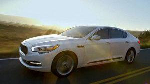全新起亚K9豪华车 眼眉设计科技动感