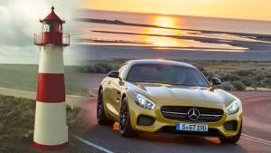 四万说车 心目中的灯塔奔驰AMG GT