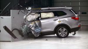 2015款现代格锐 IIHS正面25%碰撞测试