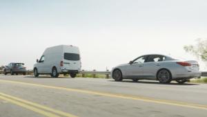 英菲尼迪Q50S 超视距前端碰撞预警系统