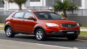 小型SUV双龙柯兰多 匹配6挡变速箱
