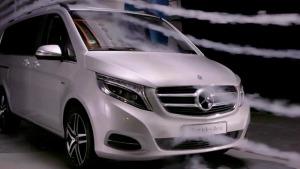 全新奔驰V级 采用空气动力学设计