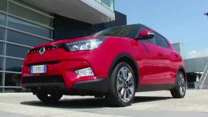 小型SUV双龙Tivoli 对手锁定现代ix25