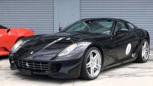 法拉利599 GTB F1赛车技术公路版跑车