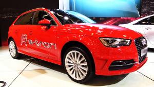 2015款奥迪A3 e-tron 油电混合动力车型