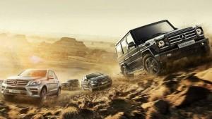 奔驰SUV家族宣传片 穿越西域丝绸之路