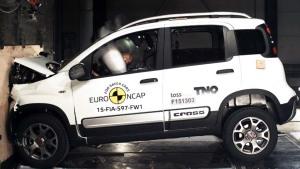 菲亚特Panda Cross  E-NCAP碰撞测试